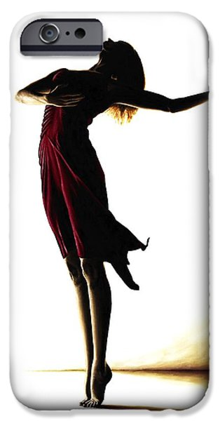 Shadow iPhone Cases - Poise in Silhouette iPhone Case by Richard Young