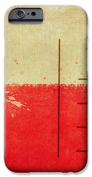 Poland flag postcard iPhone Case by Setsiri Silapasuwanchai