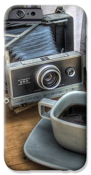 Polaroid perceptions iPhone Case by Jane Linders