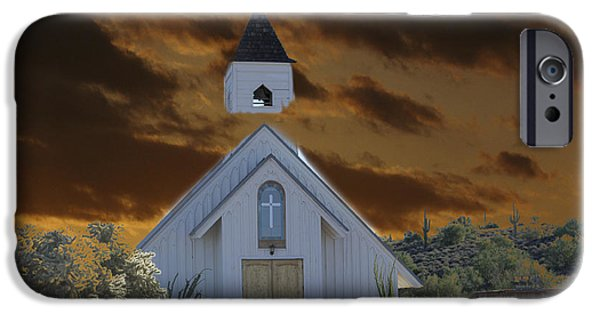 The Church Mixed Media iPhone Cases - Political Correctness Choking The Church iPhone Case by Beverly Guilliams