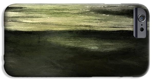 Alga iPhone Cases - Pond #3 iPhone Case by Brian Goodwin