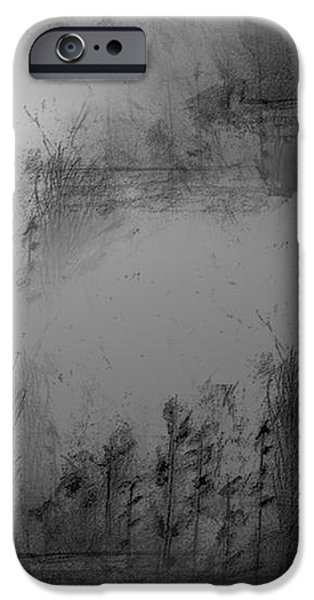 Pond By Moonlight iPhone Case by John Krakora