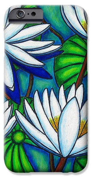 Pond Jewels iPhone Case by Lisa  Lorenz