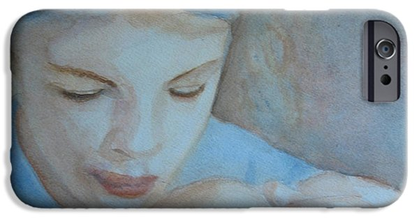 Ponder iPhone Cases - Pondering iPhone Case by Jenny Armitage