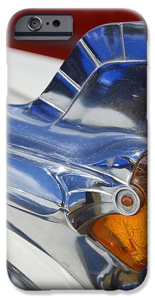 Pontiac Hood Ornament iPhone Case by Larry Keahey