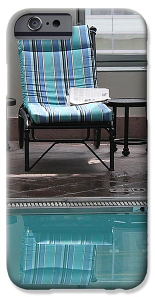 Pool Time iPhone Case by Lauri Novak