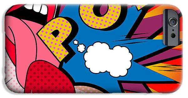Weapon iPhone Cases - Pop iPhone Case by Mark Ashkenazi