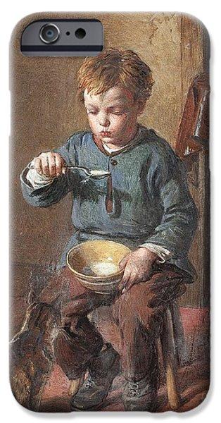 Porridge iPhone Cases - Porridge iPhone Case by William Hemsley