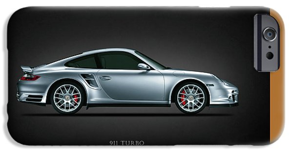 911 iPhone Cases - Porsche 911 Turbo iPhone Case by Mark Rogan