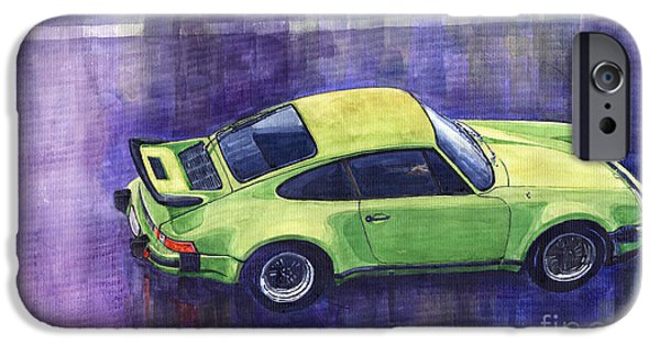 Automotive iPhone Cases - Porsche 911 turbo iPhone Case by Yuriy  Shevchuk