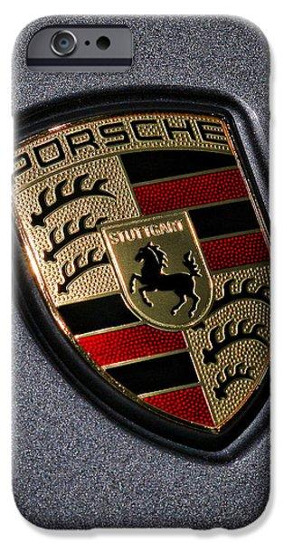Porsche iPhone Case by Gordon Dean II