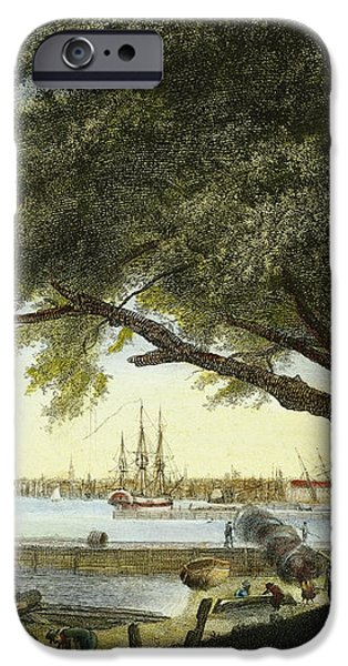 PORT OF PHILADELPHIA, 1800 iPhone Case by Granger