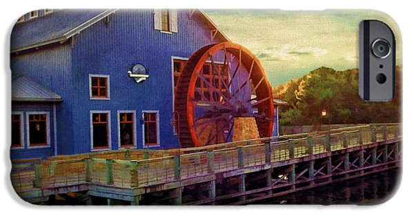 Mill iPhone Cases - Port Orleans Riverside iPhone Case by Lourry Legarde