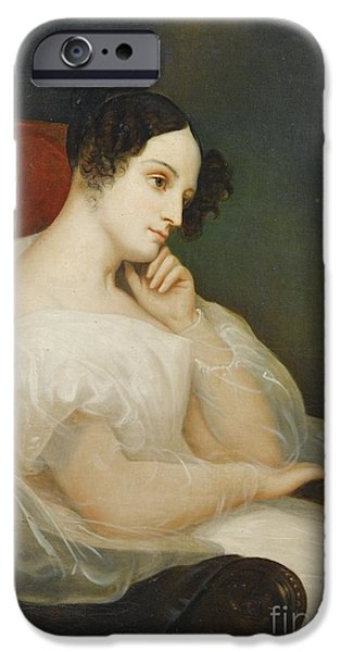 Duchess iPhone Cases - Portrait Of Marie-josephine Souham iPhone Case by Ary Scheffer