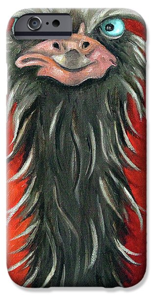 Poser 3 iPhone Case by Leah Saulnier The Painting Maniac