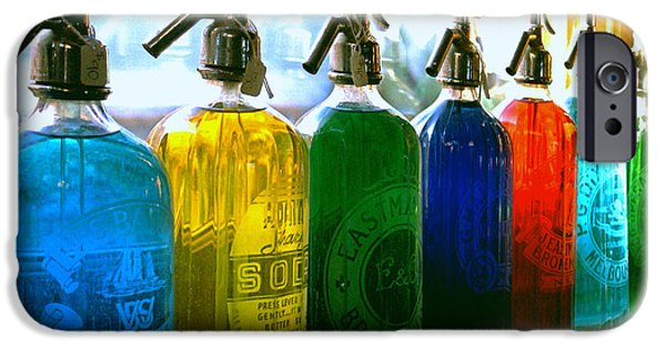 Bottled iPhone Cases - Pour Me a Rainbow iPhone Case by Holly Kempe