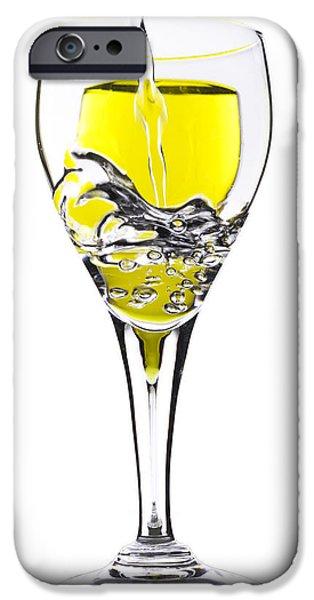 Schwartz Digital iPhone Cases - Pour me One iPhone Case by Donald Schwartz