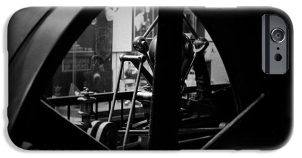National Museum Of America History iPhone Cases - Power Machinery Industry  iPhone Case by Kyle Hanson