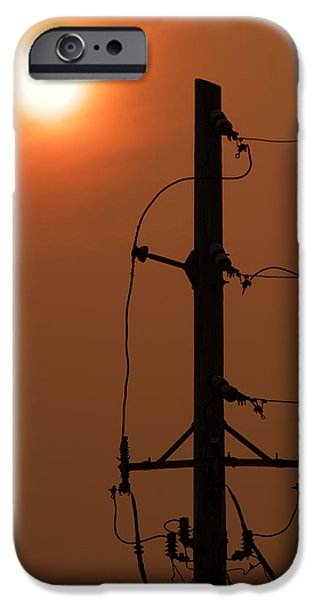 Power Photographs iPhone Cases - Power Up iPhone Case by Don Spenner