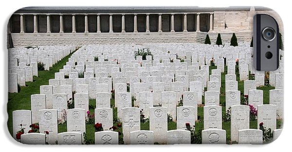 IPhone 6 Case featuring the photograph Pozieres British Cemetery by Travel Pics