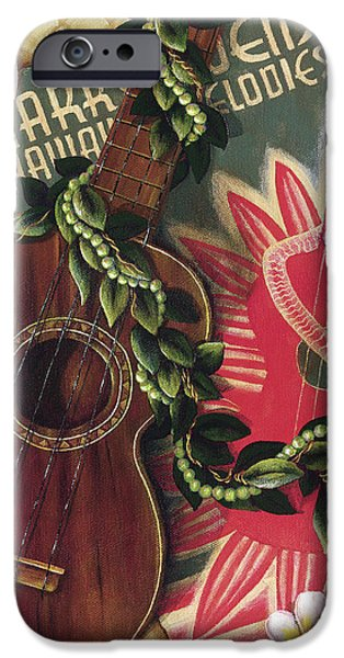 Printscapes - iPhone Cases - Practice My Uke iPhone Case by Sandra Blazel - Printscapes