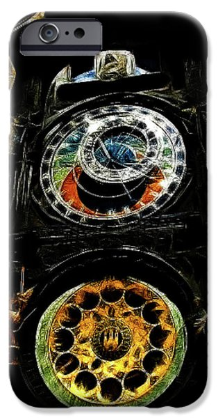 Prague Clock iPhone Case by Joan  Minchak