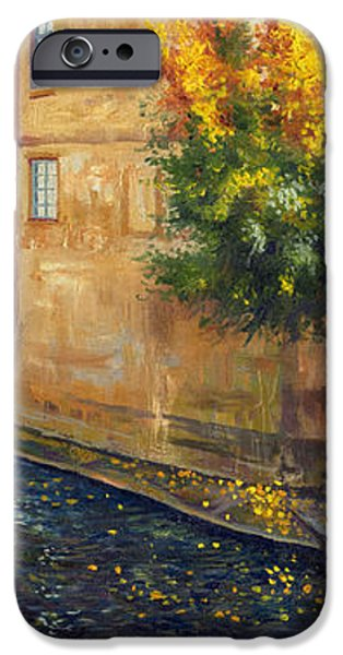 Prague Venice Chertovka 2 iPhone Case by Yuriy  Shevchuk
