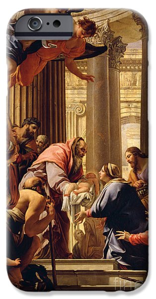 Column iPhone Cases - Presentation in the Temple iPhone Case by Simon Vouet