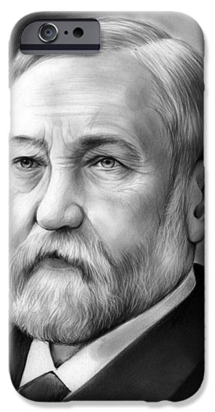 President iPhone Cases - President Benjamin Harrison iPhone Case by Greg Joens