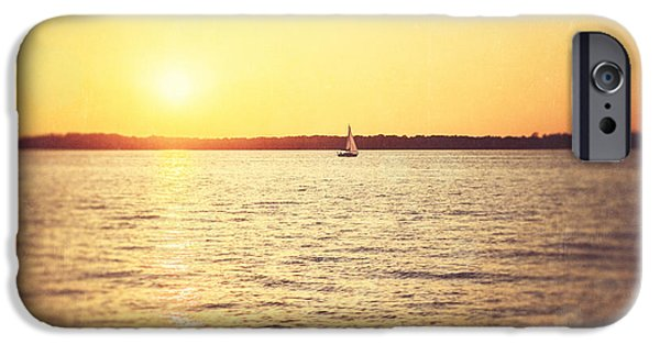 Bathroom Prints iPhone Cases - Presque Isle Sunset iPhone Case by Lisa Russo