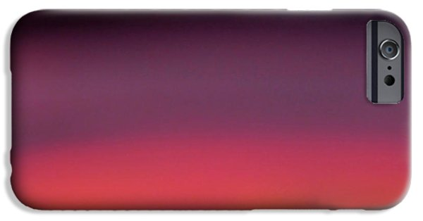 Cmlbrown iPhone Cases - Pretend Sunset iPhone Case by CML Brown