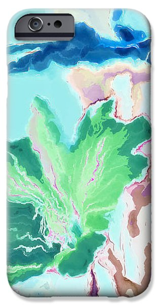 Pretty Bouquet a09z iPhone Case by Variance Collections