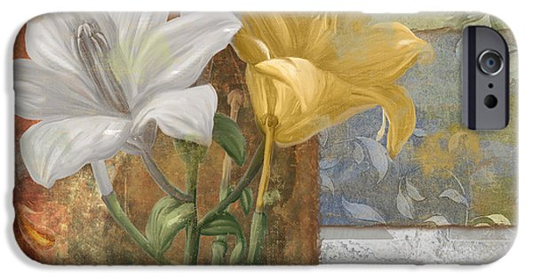 Day Lilies iPhone Cases - Primavera iPhone Case by Mindy Sommers