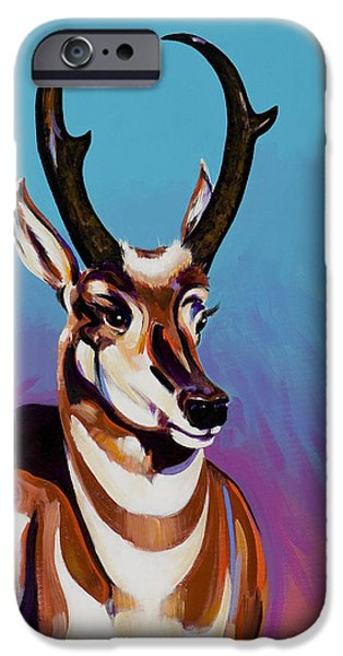 Wildlife Imagery iPhone Cases - Prince of the Prairies iPhone Case by Bob Coonts