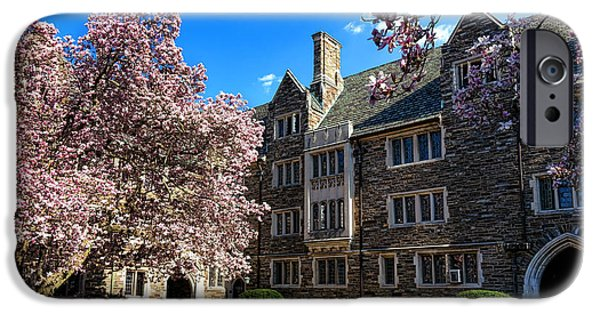 Recently Sold -  - Buildings iPhone Cases - Princeton University Pyne Hall Courtyard iPhone Case by Olivier Le Queinec