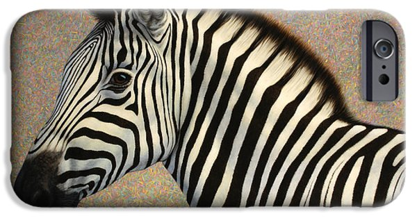 Zebra iPhone Cases - Principled iPhone Case by James W Johnson