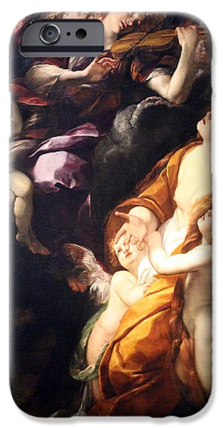 Painter Photographs iPhone Cases - Procaccinis The Ecstasy Of The Magdalen iPhone Case by Cora Wandel