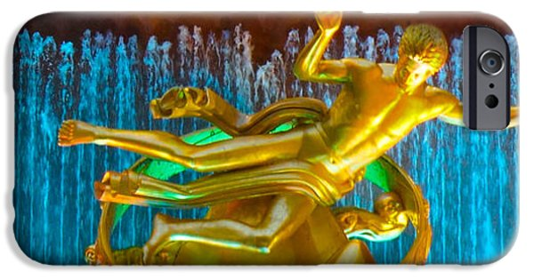 Hallmark iPhone Cases - Prometheus Sculpture iPhone Case by Sheela Ajith