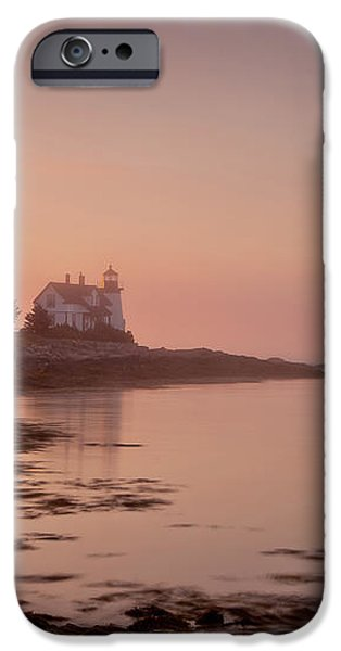 Prospect Harbor Dawn iPhone Case by Susan Cole Kelly