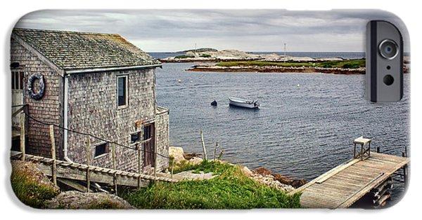 Prospects iPhone Cases - Prospect Point - Nova Scotia - Canada iPhone Case by Nikolyn McDonald