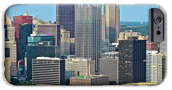 Roberto iPhone Cases - Proud Pittsburgh iPhone Case by Frozen in Time Fine Art Photography