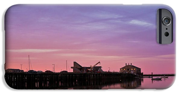 Dave iPhone Cases - Provincetown Harbor I iPhone Case by David Gordon