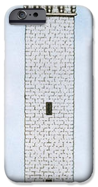 Cape Cod Mixed Media iPhone Cases - Provincetown Pilgrim Monument iPhone Case by Charles Harden