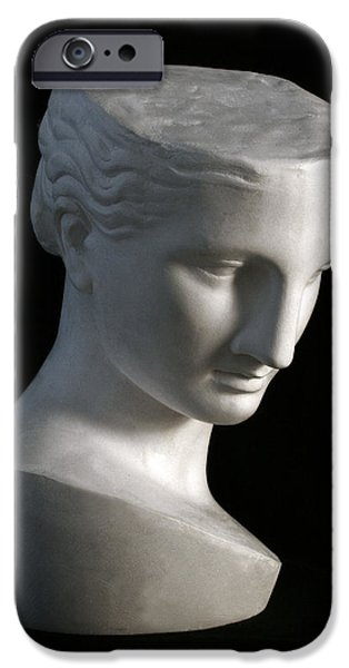 Bust Sculptures iPhone Cases - Psyche of Capua iPhone Case by Andrea Felice