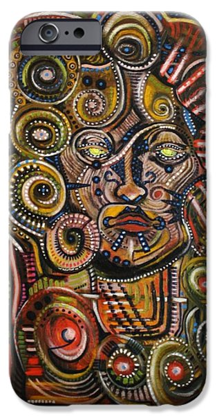 Psychotic iPhone Case by Michael Kulick