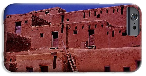 Historic Site iPhone Cases - Pueblo Living iPhone Case by Christopher James