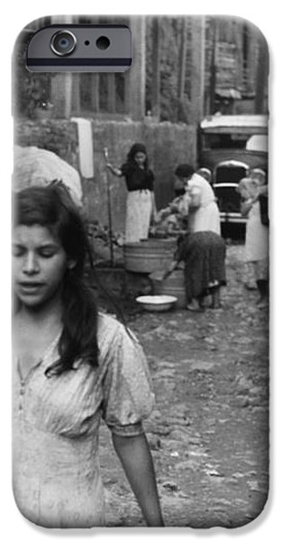 PUERTO RICO: SLUM, 1942 iPhone Case by Granger