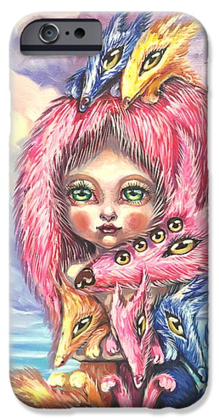 Dogs iPhone Cases - Puppies iPhone Case by Julia Jane J-Art-J