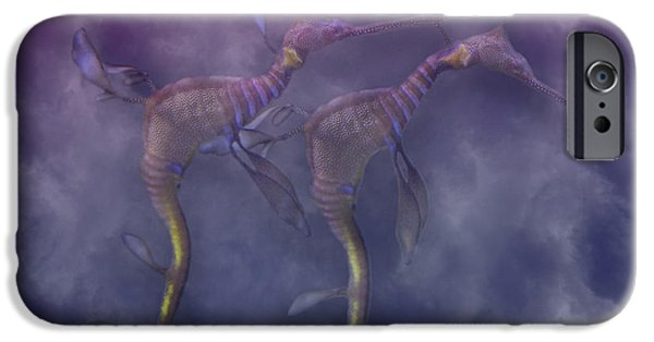 Nature Study iPhone Cases - Purple Haze iPhone Case by Betsy C  Knapp