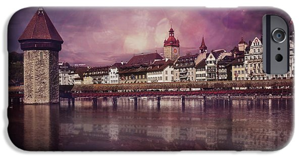 Covered Bridge iPhone Cases - Purple Haze iPhone Case by Carol Japp